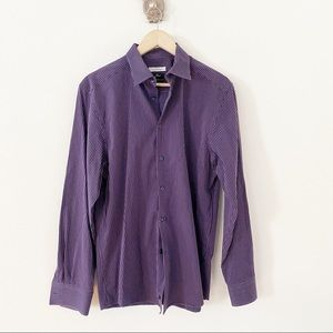 Versace Collection Trend Fit Button Up